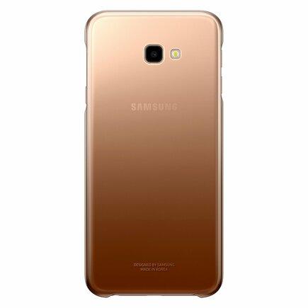 Gradation Cover pevné pouzdro s gradientem Samsung Galaxy J4 Plus 2018 zlaté (EF-AJ415CFEGWW)