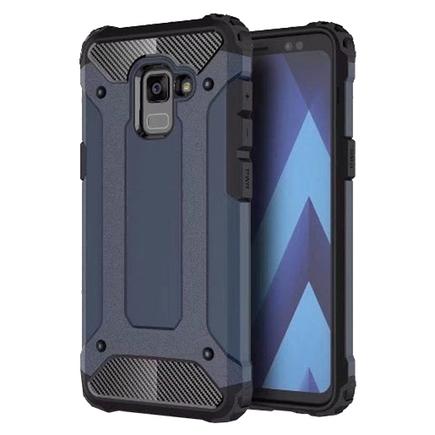 Hybrid Armor pancéřové hybridní pouzdro Samsung Galaxy A5/A8 2018 modré