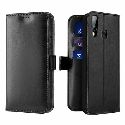 Kado pouzdro s klapkou Samsung Galaxy A40 černé