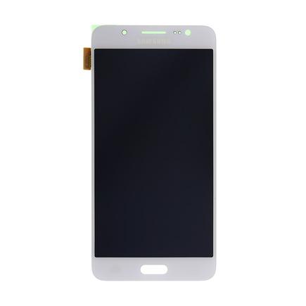 LCD display + Dotyk bílý pro Samsung J510 Galaxy J5 2016 (Service Pack)