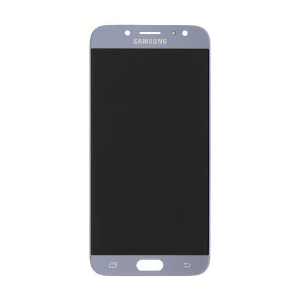 LCD display + Dotyk stříbrný pro Samsung J730 Galaxy J7 2017 Silver (Service Pack)