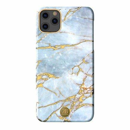 Marble Series elegantní pouzdro s mramorovým potiskem iPhone 11 Pro bílé