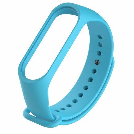 Náhradní silikonový pásek pro Xiaomi Mi Band 4 / Mi Band 3 modrý