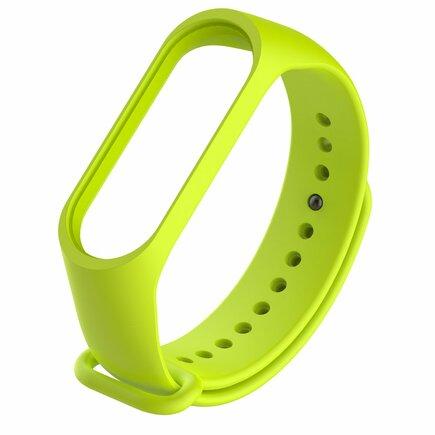 Náhradní silikonový pásek pro Xiaomi Mi Band 4 / Mi Band 3 zelený