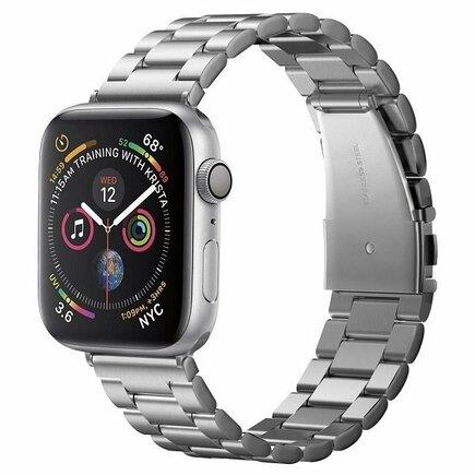 Náramek Modern Fit Band Apple Watch 1/2/3/4 (42/44MM) stříbrný