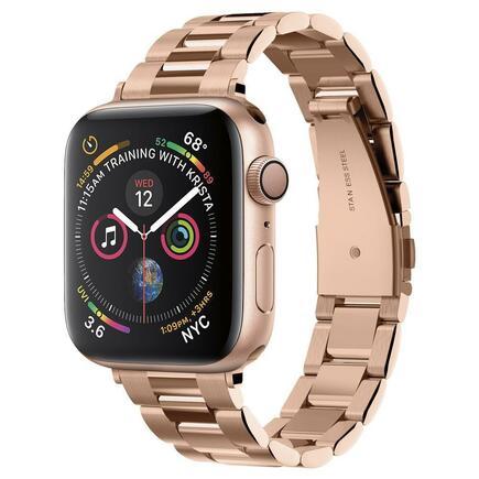 Náramek Modern Fit Band Apple Watch 1/2/3/4/5 (38/40MM) růžově-zlatý