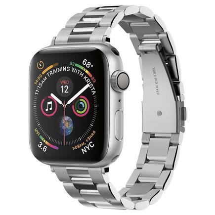 Náramek Modern Fit Band pro Apple Watch 1/2/3/4/5 (38/40MM) stříbrný