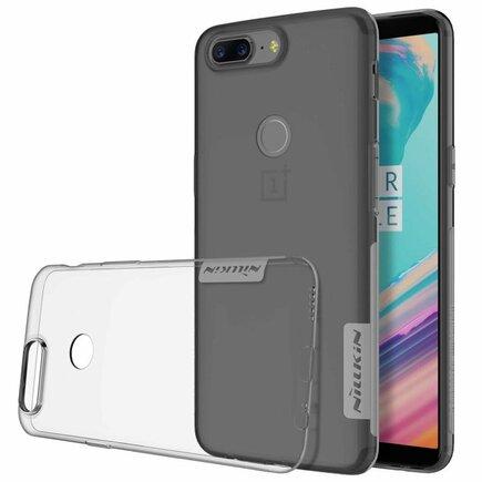 Nature gelové pouzdro ultra slim OnePlus 5T šedé