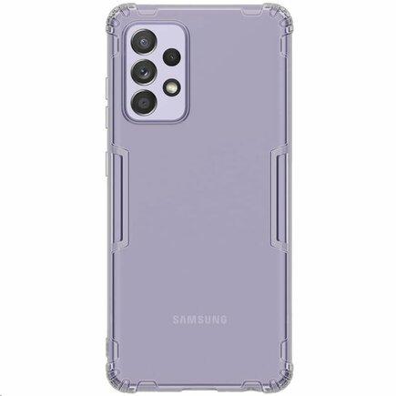 Nillkin Nature TPU Pouzdro pro Samsung Galaxy A52 šedé