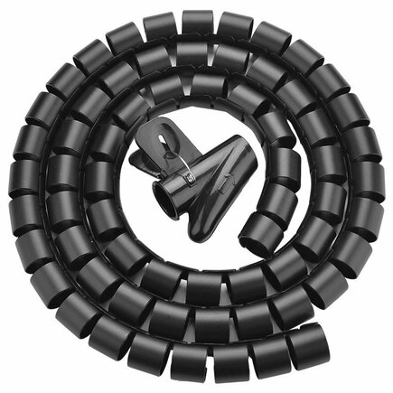 Organizér kabelů Ugreen 5 m černý (30820)