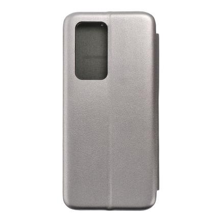 Pouzdro Book Elegance Huawei P40 Pro šedé