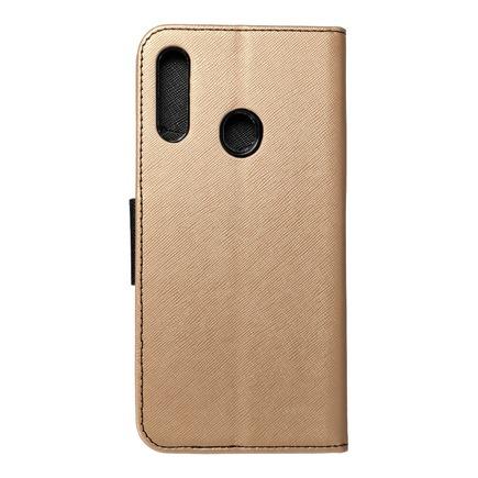 Pouzdro Fancy Book Samsung A20s černé/zlaté