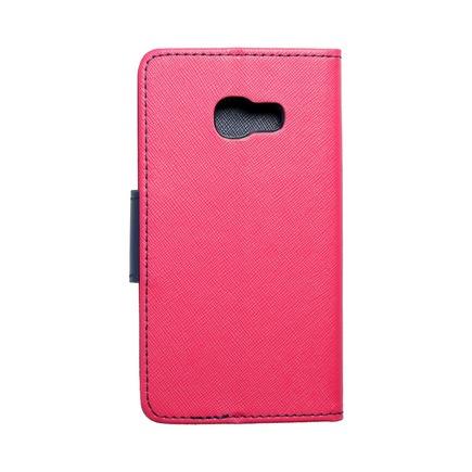 Pouzdro Fancy Book Samsung Galaxy A3 2017 růžové/tmavě modré
