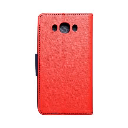 Pouzdro Fancy Book Samsung Galaxy J7 2016 červené/tmavě modré