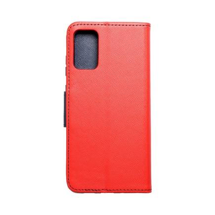 Pouzdro Fancy Book Samsung S20 Plus / S11 červené/tmavě modré
