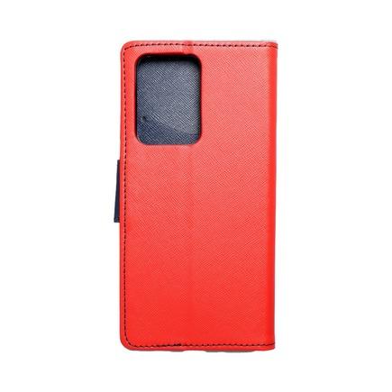 Pouzdro Fancy Book Samsung S20 Ultra / S11 Plus červené/tmavě modré