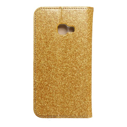 Pouzdro Forcell Shining Book Samsung Xcover 4 zlaté