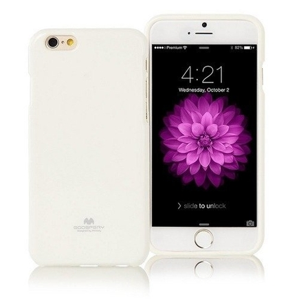 Pouzdro Jelly Case bílé Samsung Galaxy S8 G950