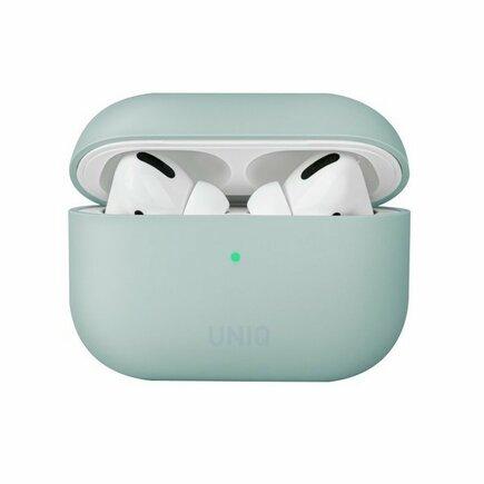 Pouzdro Lino AirPods Pro Silicone mátově zelené