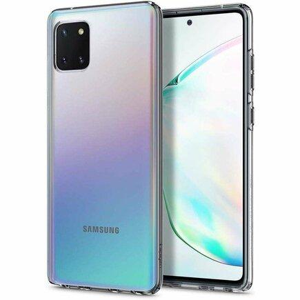 Pouzdro Liquid Crystal Galaxy Note 10 Lite průsvitné