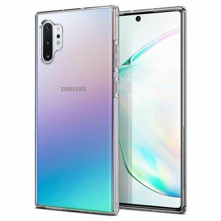 Pouzdro Liquid Crystal Galaxy Note 10+ Plus průsvitné