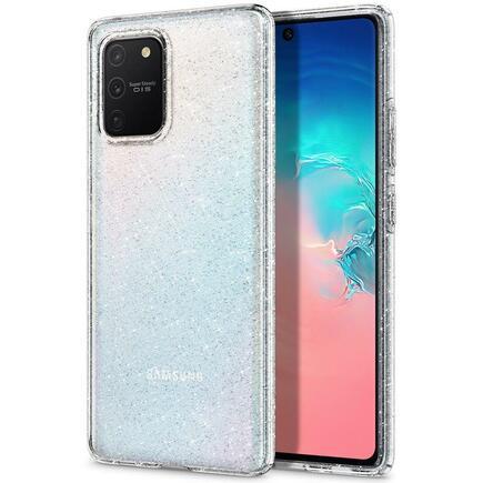Pouzdro Liquid Crystal Galaxy S10 Lite Glitter průsvitné