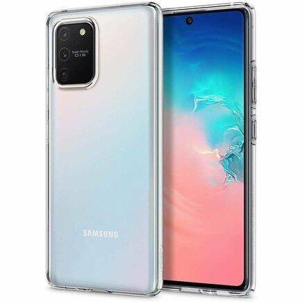 Pouzdro Liquid Crystal Galaxy S10 Lite průsvitné