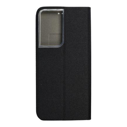 Pouzdro SENSITIVE Book pro Samsung S21 Ultra černé