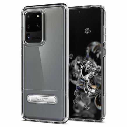 Pouzdro Slim Armor Essential S Galaxy S20 Ultra průsvitné