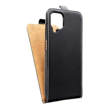 Pouzdro Slim Flexi Fresh svislé Samsung Galaxy A12 černé