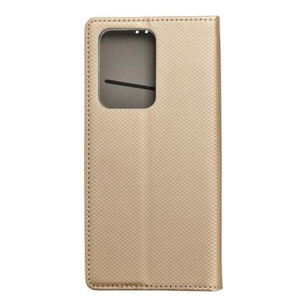 Pouzdro Smart Case book Samsung S20 Ultra / S11 Plus zlaté