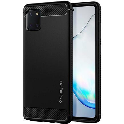 Pouzdro Spigen Rugged Armor Galaxy Note 10 Lite Matte černé