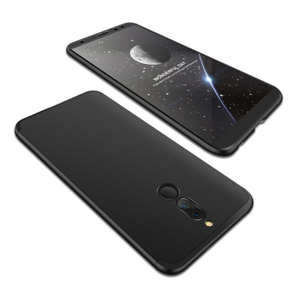 Pouzdro na přední i zadní část telefonu 360 Huawei Mate10 Lite černé