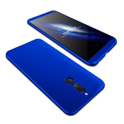 Pouzdro na přední i zadní část telefonu 360 Huawei Mate10 Lite modré