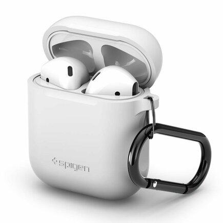 Pouzdro pro sluchátka Airpods bílé