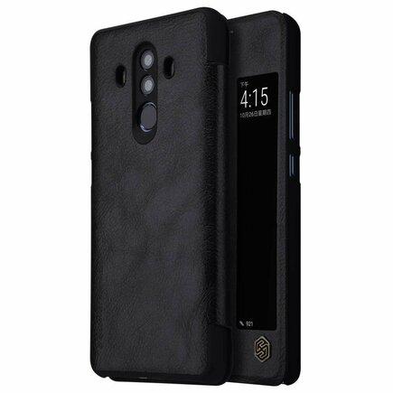Qin kožené pouzdro Huawei Mate 10 Pro černé