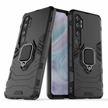 Ring Armor pancéřové hybridní pouzdro + magnetický úchyt Xiaomi Mi Note 10 / Mi Note 10 Pro / Mi CC9 Pro černé