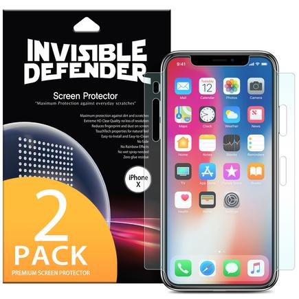 Ringke IDFULL 2x ochranná fólie přes celý displej APPLE iPhone X