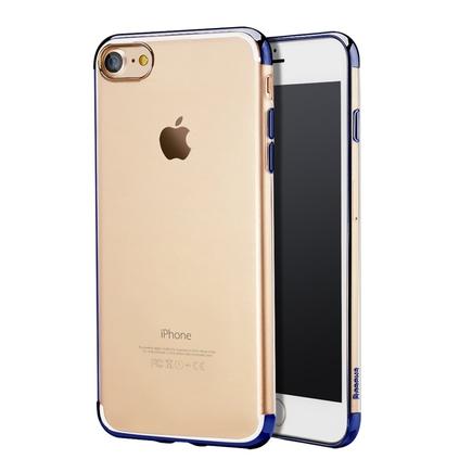 Shining Case gelové pouzdro na iPhone 8 / 7 modré