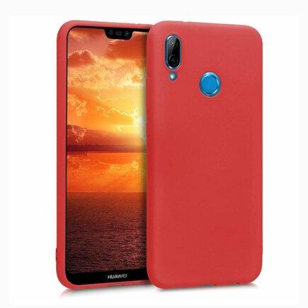 Silicone Case elastické pouzdro Huawei P20 Lite červené