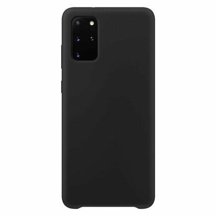 Silicone Case elastické silikonové pouzdro Samsung Galaxy S20+ (S20 Plus) černé
