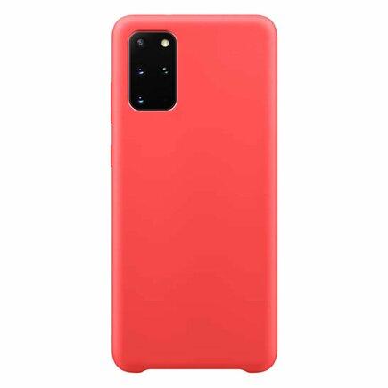 Silicone Case elastické silikonové pouzdro Samsung Galaxy S20+ (S20 Plus) červené