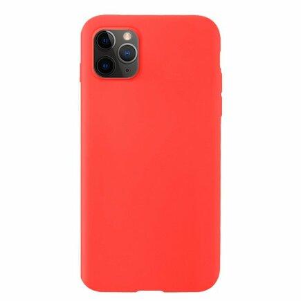 Silicone Case elastické silikonové pouzdro iPhone 11 Pro červené