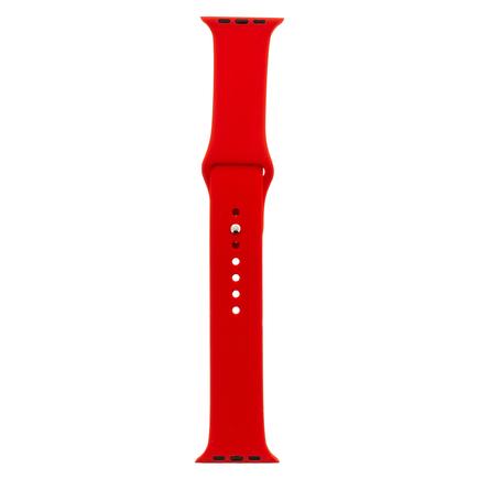 Silikonový Pásek červený pro iWatch 1/2/3 38mm (EU Blister)