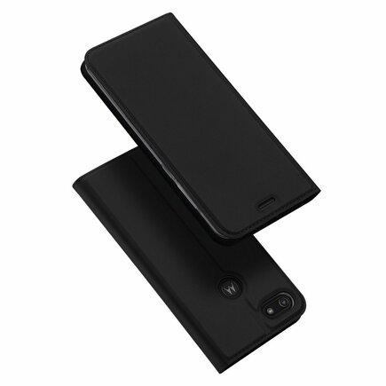 Skin Pro pouzdro s klapkou Motorola Moto E6 Play černé