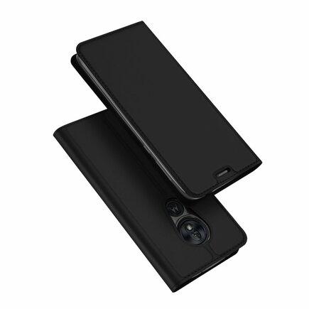 Skin Pro pouzdro s klapkou Motorola Moto G7 Power černé