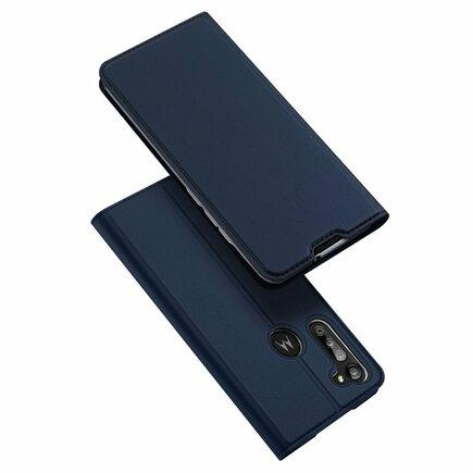 Skin Pro pouzdro s klapkou Motorola Moto G8 Power modré