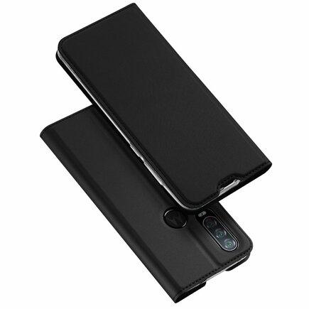 Skin Pro pouzdro s klapkou Motorola One Action černé