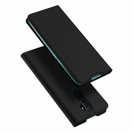 Skin Pro pouzdro s klapkou Oppo A9 (2020) / Oppo A5 (2020) černé