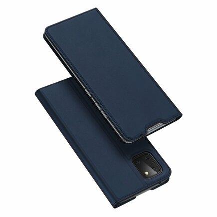 Skin Pro pouzdro s klapkou Samsung Galaxy Note 10 Lite modré